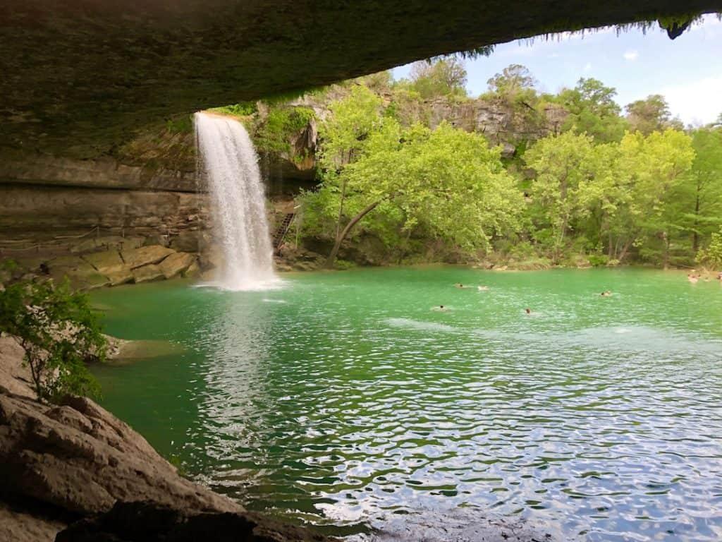 Hamilton Pool. Texas Swimming Holes