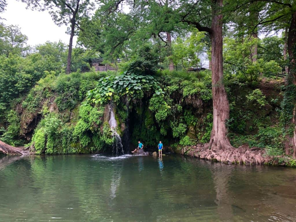 Krause Springs. Texas Swimming Holes