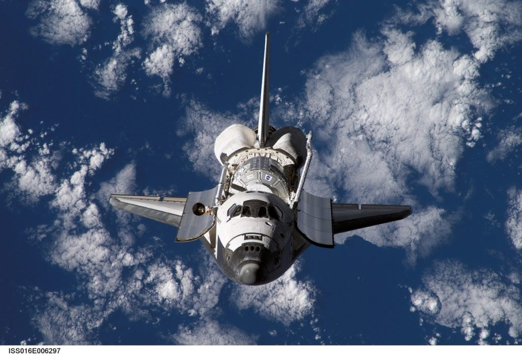 Where to see a NASA space shuttle.