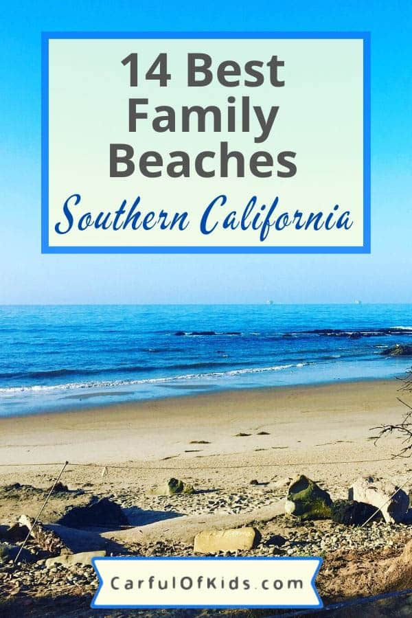 From San Diego to Cambria, find beaches for shelling, surfing or strolling. Find out the details of your next beach day. #Beaches #BestBeaches Best Beaches for Families