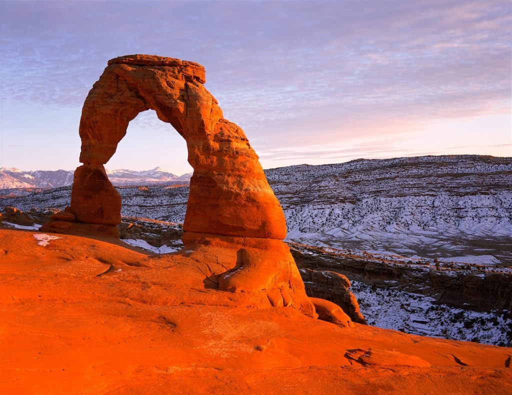 Delicate Arch. Utah National Park Itinerary from Las Vegas.