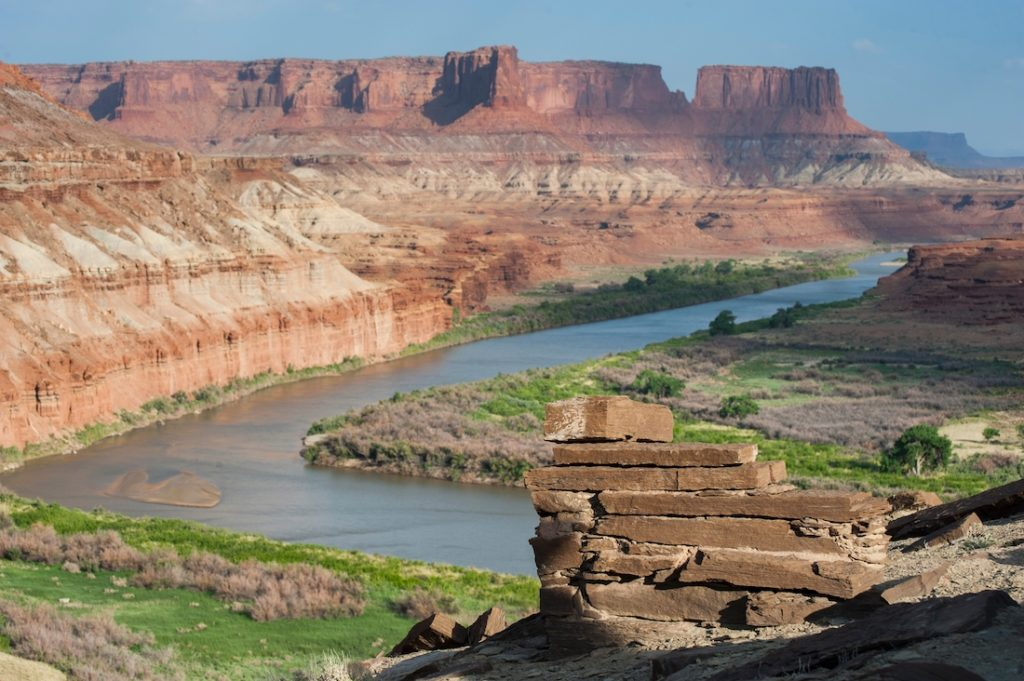 Canyonlands National Park. Utah National Park Itinerary from Las Vegas.