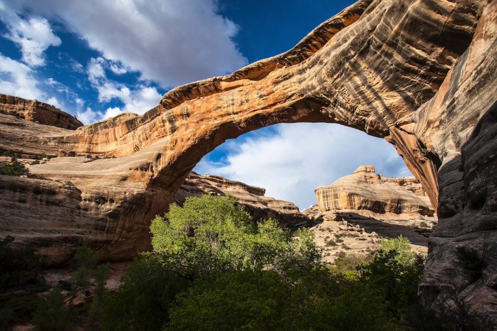 Sipapu Bridge, Utah National Park Itinerary from Las Vegas