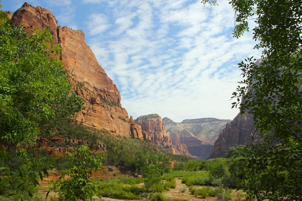 Zion National Park. Utah National lPark Itinerary from Las Vegas