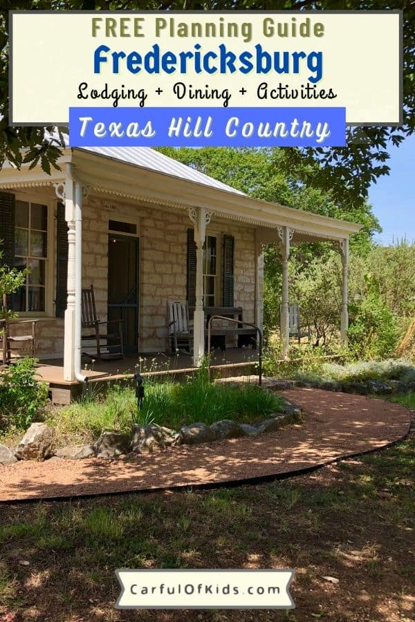 Head to the Texas Hill Country for a weekend away to a top small town destination. Find a quaint downtown shopping district, gourmet European inspired dining, and the second largest wine destination in the U.S. Also find a lots of museums along with live music. What to do in the Texas Hill Country | Where to go in Fredericksburg | Where to eat in Fredericksburg | Best Small Town in Texas | Best Small Towns in U.S. #Fredericksburg #Texas