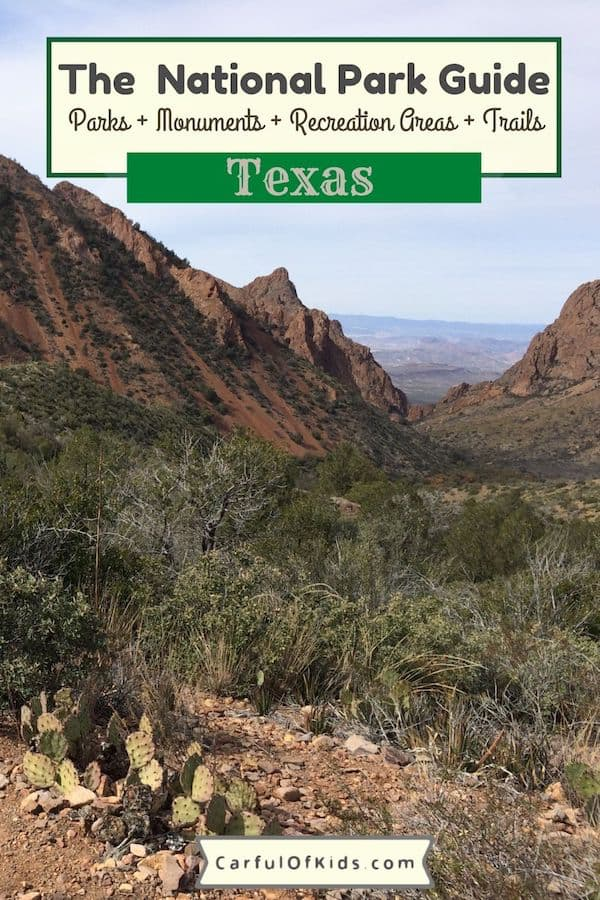 Texas is BIG and it takes a full day to drive across it. See the most spectacular scenery in Texas, like Big Bend and Guadalupe Mountains. Find 16 National Park Service units across Texas like the San Antonio Missions National Historical Park or Padre Island National Seashore. Here's the guide to all the National Parks of Texas. National Parks of Texas #Texas #National Parks