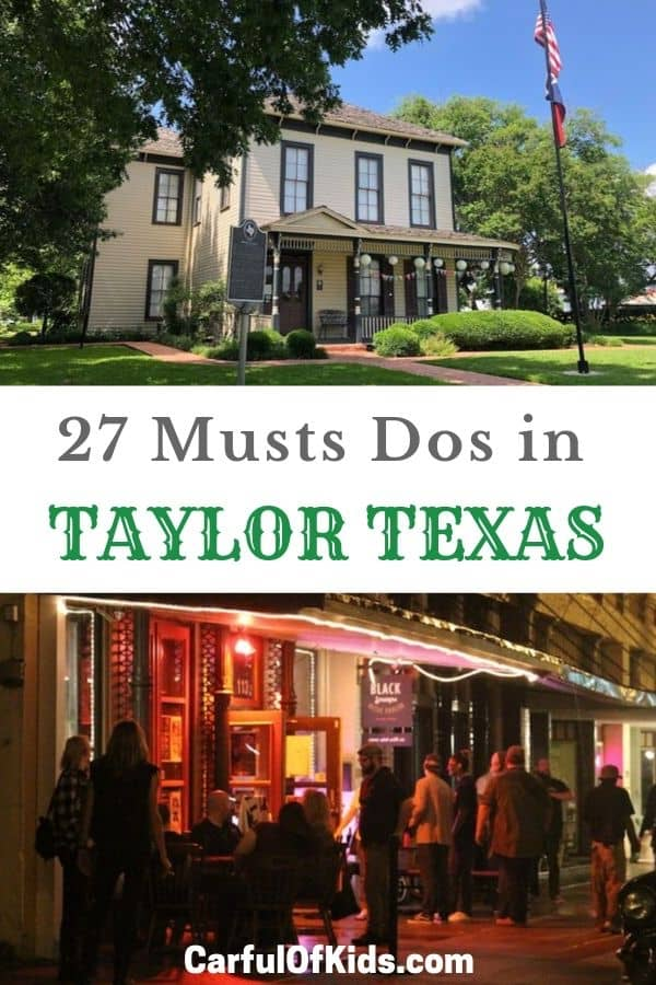 Head to Taylor, Texas, for BBQ, Beer or Beans, the chocolate ones. Also find live musics, street art and a flow skatepark, all east of Austin Texas. #Texas #TaylorTexas Taylor | Texas Small Towns | Central Texas