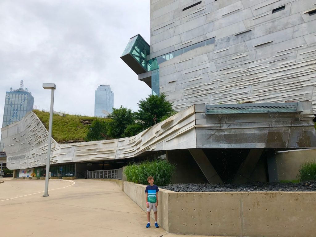The Perot Museum. Things to do in Dallas with kids.