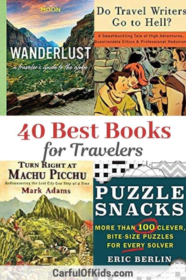 Here's 40 books for the readers or travelers on your list. Find books for adventure travelers, history lovers, solo female travelers. This guide even features Amazon links to make holiday shopping easier. #Travelbooks #GiftGuide   Holiday Guide   Best Books for Travelers   What to buy for a traveler