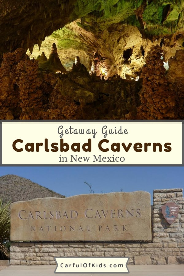 Explore one of the largest show caves in North America. Carlsbad Caverns in New Mexico can be explore on your own or on a Ranger Tour. Read on for the 5 musts for your visit. #NPS #NewMexico #Carlsbad National Parks with Caves | Best Caves in the US