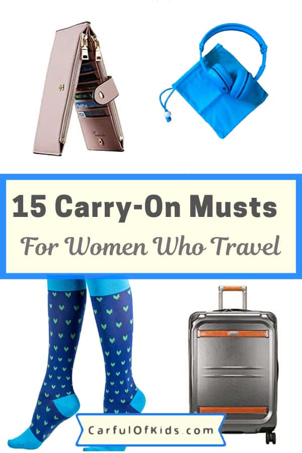 If  you or someone you know travel a lot then here's the list for you. Got top products for your carry-on luggage, like pillows, luggage, compression socks, wallets and more. #PackingLIst #TravelGifts #AirTravel