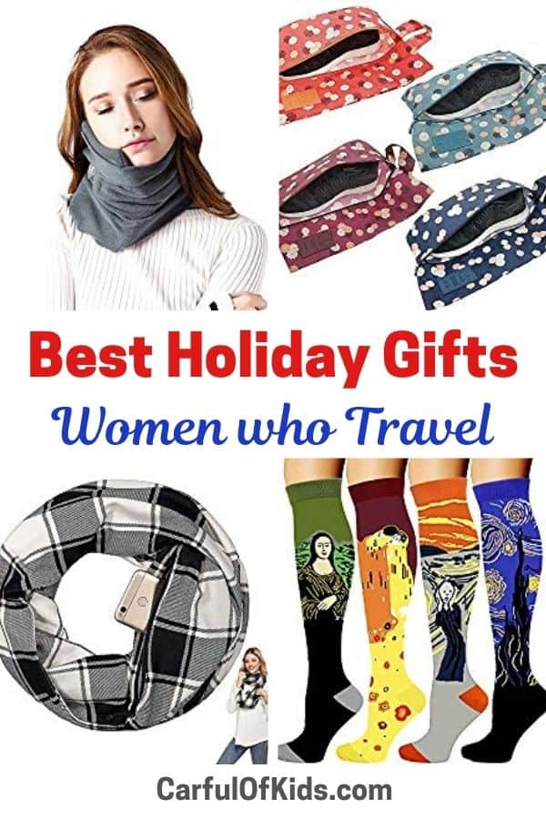Here's at least 20 gift ideas for the holiday season. Just for women who travel. Got all the newest products and gadgets. And it's all available on Amazon. #GiftGuide Gifts for Women who Travel |Best Gift Guide for Women