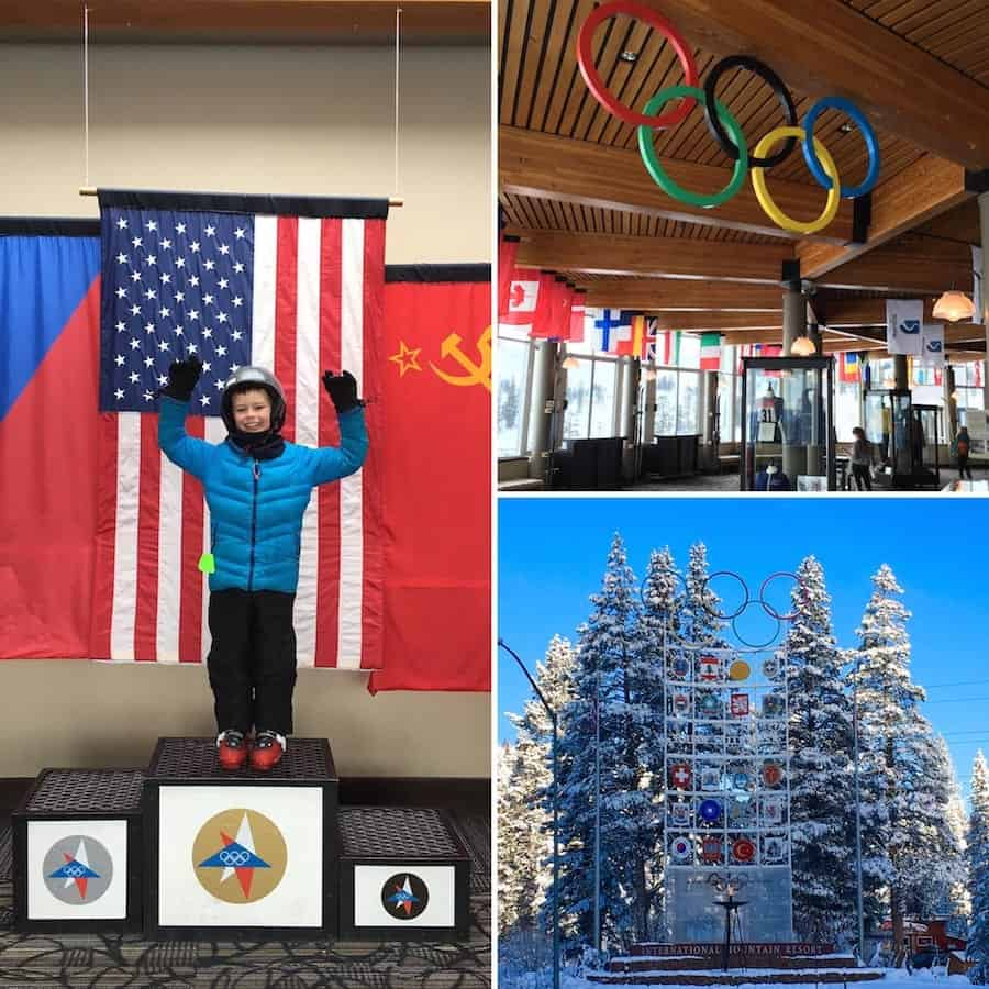 Olympic Museum where to take kids skiing in Lake Tahoe