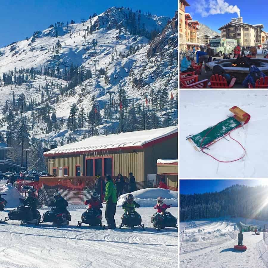 I found lots of family fun at Squaw Valley that doesn't require a lift ticket. Photo Credit: Catherine Parker