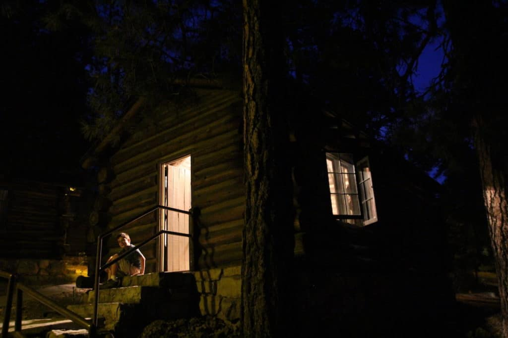 Grand Canyon Cabin, best places to stay in national parks with kids