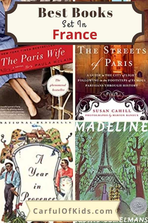 Looking for a little ohh la la. Here's 12 books set in France to transport you to the land of bread and butter. Grab on for yourself or the Francophile in your life. #Books #France | What to read before you move to France | Best Books for people who love France