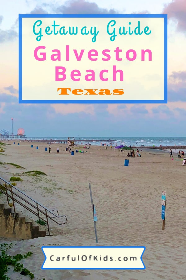 Galveston Island, south of Houston, Texas, offers miles of beach to spread out, a historic district, museums and attractions plus lots of seafood to sample. Here's a weekend itinerary to help plan your getaway. #Texas #Beaches #Galveston What to do in Galveston | Places to see in Galveston | Texas Beaches