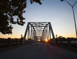 Colorado River Bridge Bastrop