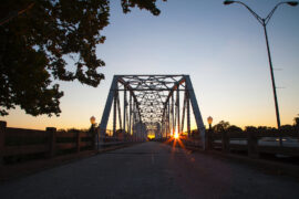 Colorado River Bridge Bastrop