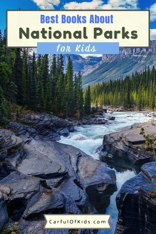 Get the kids some books. Here's a list of books about the National Parks just for kids. Kids can learn about the plants and animals of the National Parks along with the people who shaped the NPS. Best National Park Books for kids | Nonfiction books for kids #NationalParks #Books