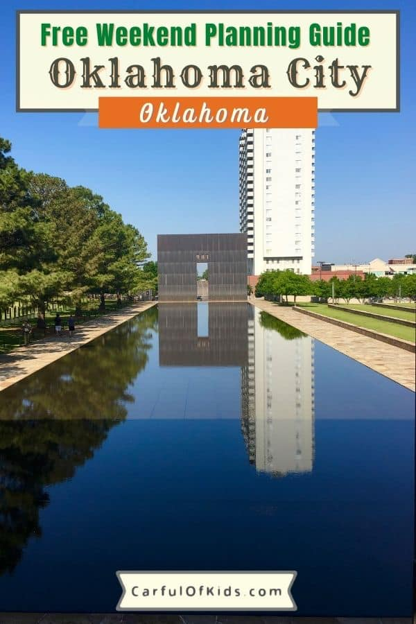 Head to Oklahoma City in Central Oklahoma for a weekend getaway with a focus on sports and outdoors along with the arts scene in OKC. See a ball game. Tour a Cowboy Museum. Reflect at the Memorial. Eat beef at every meal. Get all the details on what to do in Oklahoma City, including outdoor adventure or gardens to tour. Find where to stay in OKC and where to find the best steaks in Oklahoma City. #OKC #Oklahoma