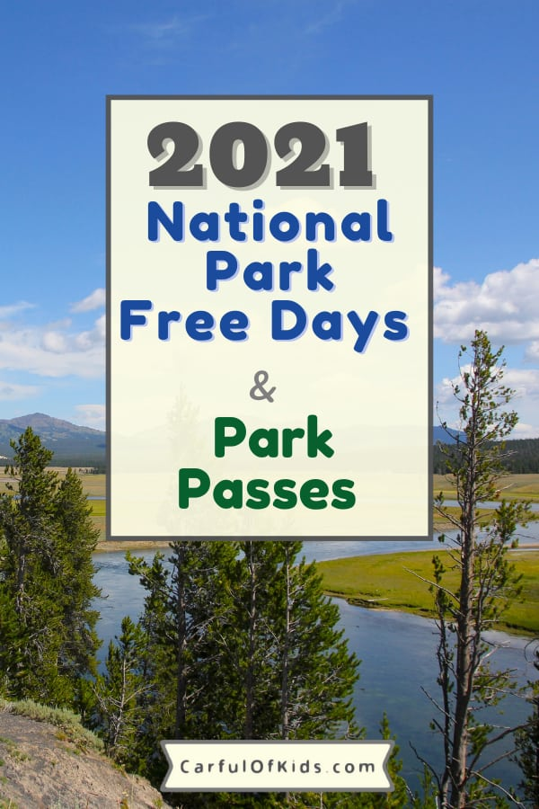 Explore a National Park for Free in 2021. Find the dates for fee free days along with details on America the Beautiful Annual Passes along with passes for Military members including Veterans and Gold Star Families, Senior Passes, Volunteer Passes and even the free pass for kids. National Park Service | Free days for National Parks | 4th and 5th Grader National Park Passes | National Park Passes for Veterans and Gold Star Families #NationalParks #Free