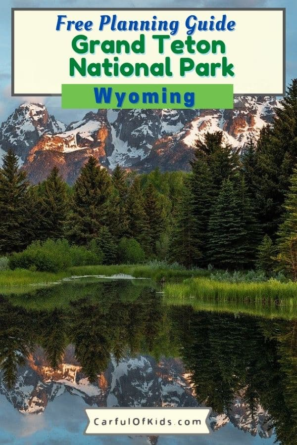 Located in Northwest Wyoming, Grand Teton National Park is a Top Ten national park with unbelievable landscapes to explore. Find activities galore, like riding, rafting, boating, hiking and more. Find out where to stay from rustic luxury to rustic camping. Get all the details to help you plan your trip along with information about Jackson Hole and the National Elk Refuge. #NPS #GrandTeton #Wyoming What to do in Grand Teton National Park | Where to stay in Grand Teton National Park | Cabins in Grand Teton | National Parks in Wyoming