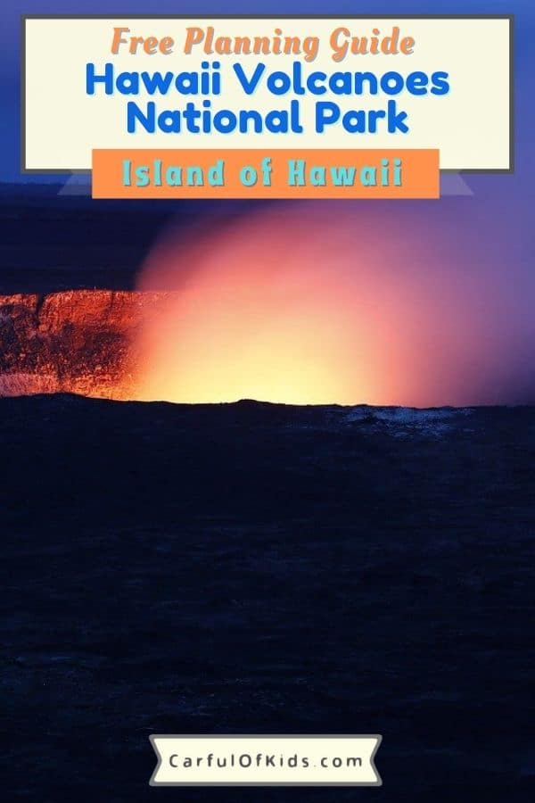 Learn about volcanoes on the Big Island of Hawaii. See two volcanoes,several craters, a sea arch and many other things while exploring Hawaii Volcanoes National Park. Find out what do in the park, where to eat in Hawaii Volcanoes National Park and where to stay on the big island. Learn about the birds and plants of the Big Island as well. #nationalparks #Hawaii