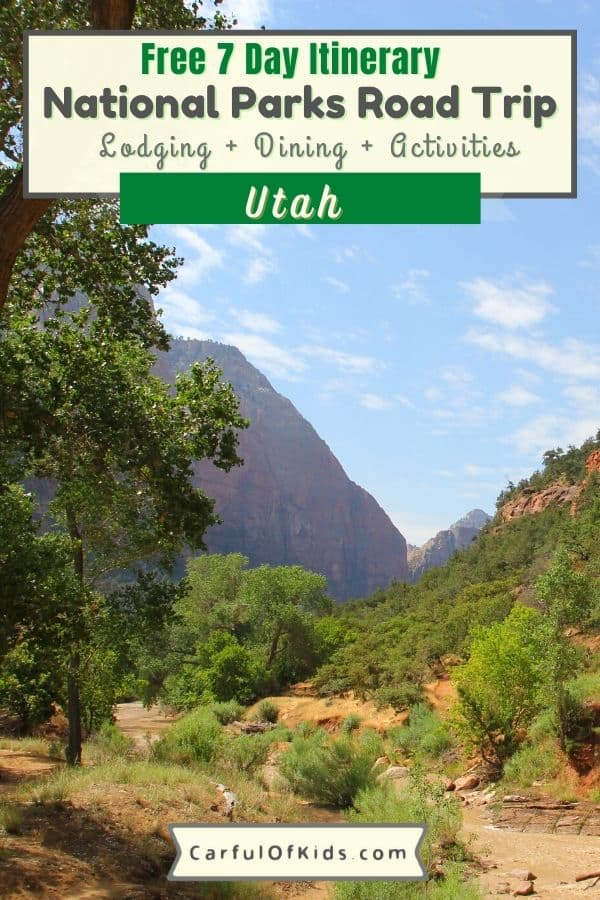 You can see five major National Parks in seven days in Utah. Starting in Las Vegas, drive through spectucular scenery starting with Arches National Park and finishing up in Zion National Park. Got all the details in this planning post, like best times to visit, where to stay and where to eat when you visit Utah's Might Five. Best 7 Day Itinerary for Utah | National Park itinerary from Las Vegas | How to see Utah's National Parks in a Week #NatonalParks #Utah