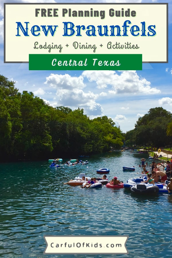 Explore a quaint German-Inspired town in-between San Antonio and Austin for a long weekend of family fun. Get all the details like where to stay, where to eat and what to do when visiting New Braunfels, Texas. Where to go in Central Texas for the weekend | 3 Day Itinerary for New Braunfels #Texas #NewBraunfels