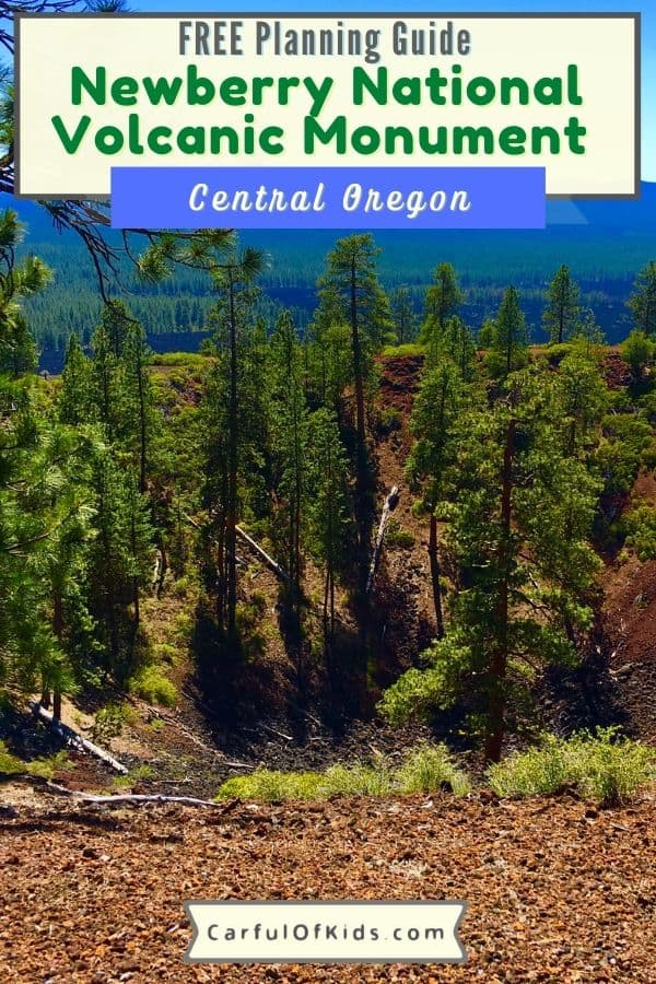 Find a volcano in Bend, Oregon. You can explore a cinder cone and a lava cave. Get the details for your trip to Newberry National Volcanic Monument with places to stay Where to find a Volcano in Oregon | What to do in Bend Oregon  #Oregon #NationalParks