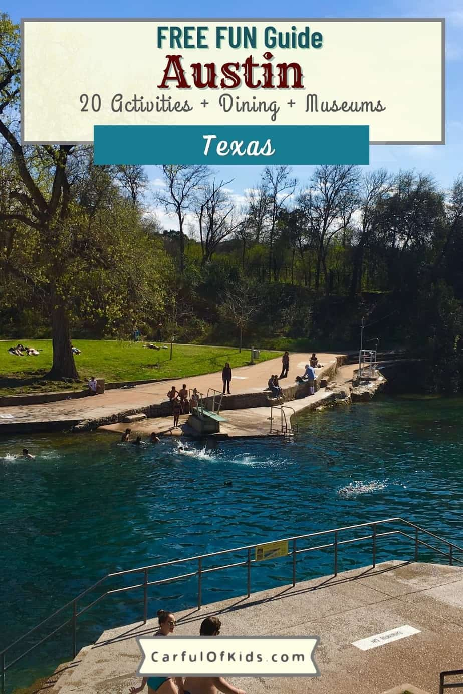 Austin is the FUN capital of Texas. Get your list of must dos like murals, best tacos, swimming holes along with top museums and best BBQ places. Best things to do in Austin Texas   Where to go in Austin Texas #ATX #Austin