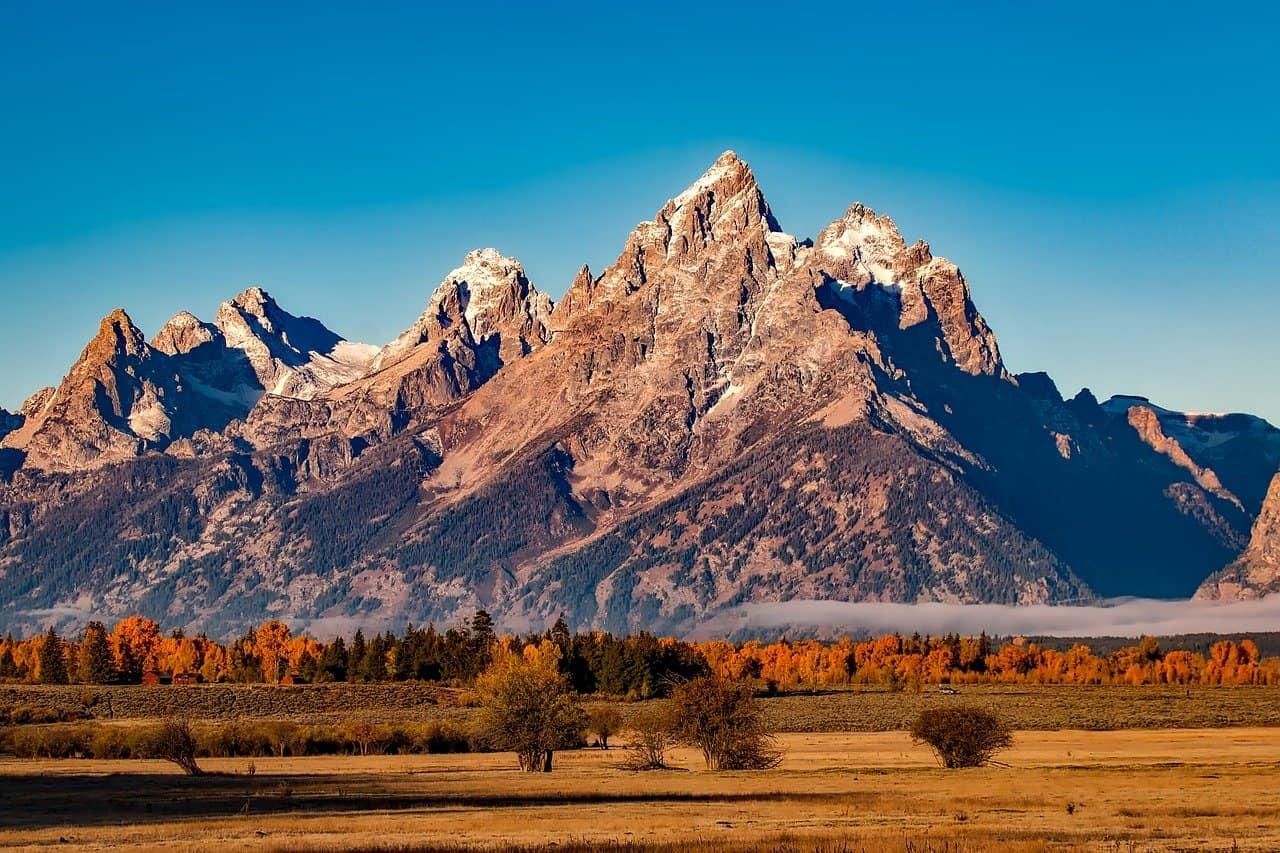 Grand Teton Fall