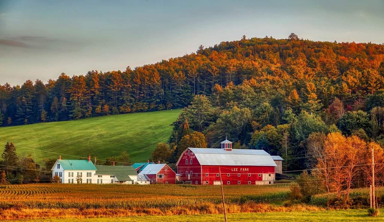 Vermont Fall Farm